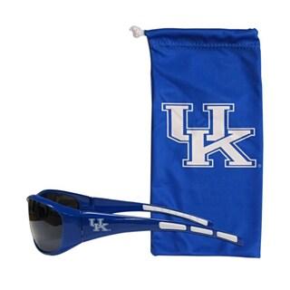 NCAA Sports Team Logo Kentucky Wildcats Sunglass and Bag Set