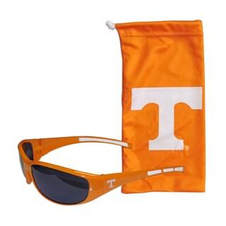 NCAA Sports Team Logo Tennessee Volunteers Sunglasses and Bag Set