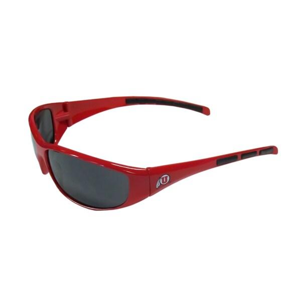 NCAA Sports Team Utah Utes Logo Wrap Sunglasses