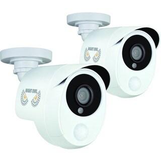 Night Owl CAM-2PK-PIR10W 2 Megapixel Surveillance Camera - 2 Pack - C