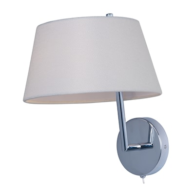 Hotel-Wall Sconce - Silver
