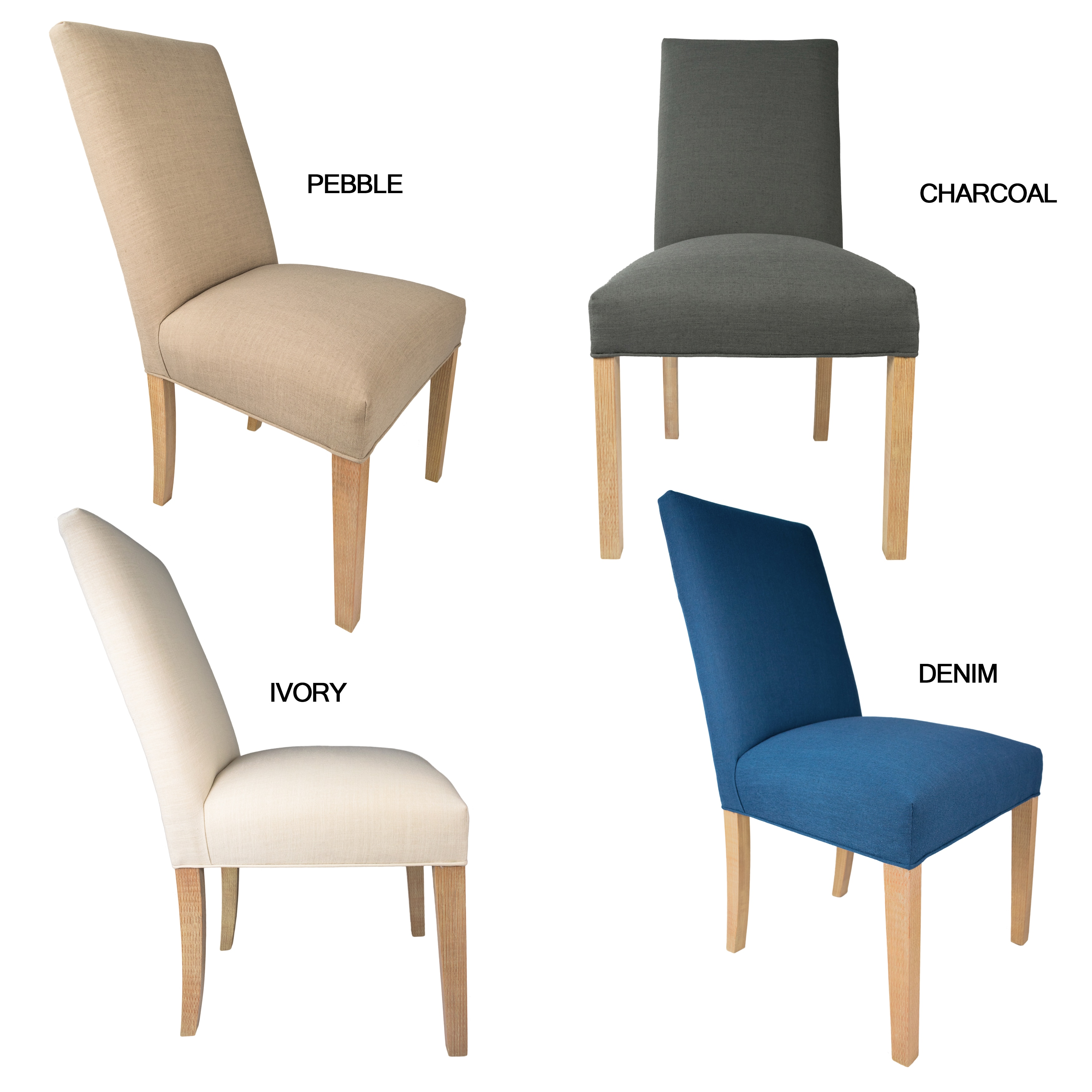 Sole Designs Allure Polyester Upholstered Dining Chairs