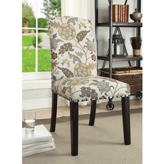 Brown Leaf Dining Chair