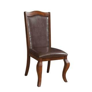 Coaster Company Louanna Side Chair in Espresso (Set of 2)