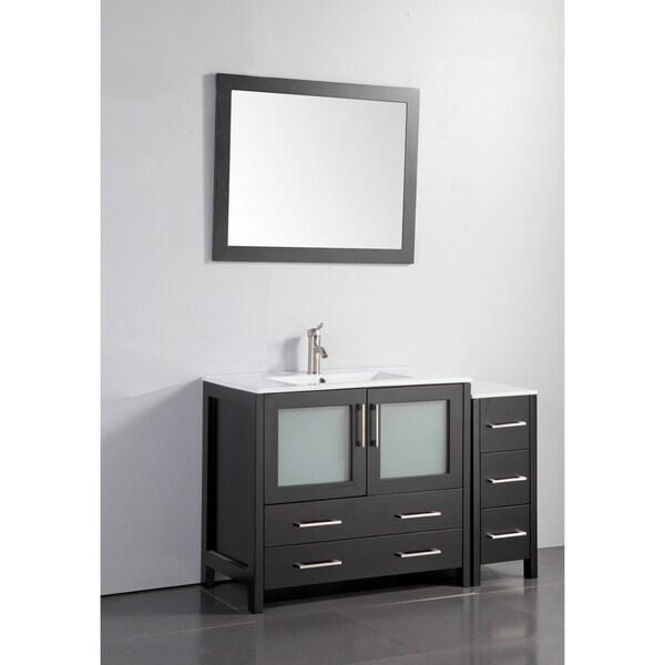 Shop Vanity Art Single Sink 48 Inch Bathroom Vanity Set
