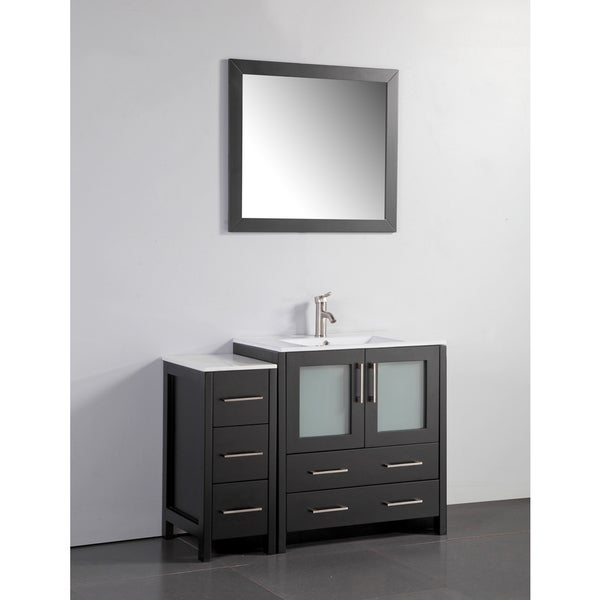 Shop Vanity Art 42-inch Single-sink Bathroom Vanity Set ...