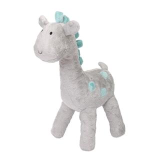 The Peanut Shell Uptown Giraffe Grey Polyester Plush Toy