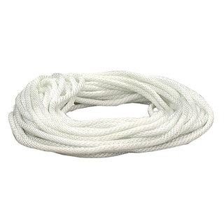 "Crawford N1425 7/16"" X 25' Solid Braid Nylon Rope"