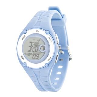 RBX Active Sport Digital Blue Rubber Strap Watch