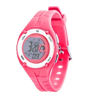 RBX Active Sport Digital Pink Rubber Strap Watch