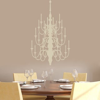 Chandelier' 22 x 36-inch Wall Decals