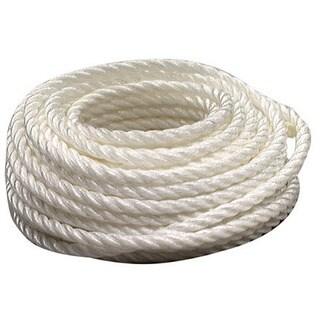 "Lehigh Group PT8100HD 3/8"" X 100' Twisted Polypropylene Rope"