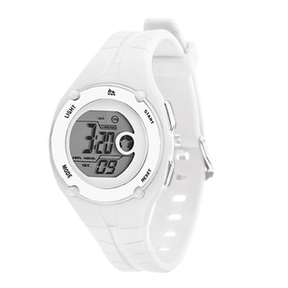RBX Active Sport Digital White Rubber Strap Watch