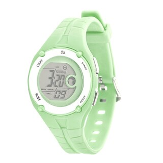 RBX Active Sport Digital Green Rubber Strap Watch