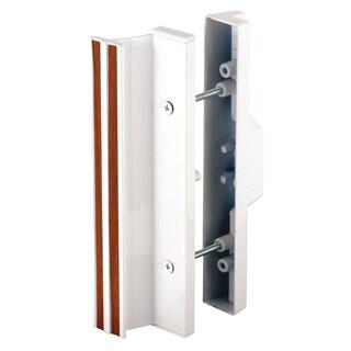 Prime Line C1111 White Sliding Glass Door Mortise Type Latch