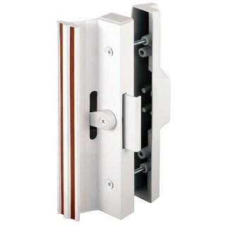 Prime Line C1116 White Sliding Glass Door Handle w/ Clamp Type Latch