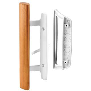 Prime Line C1204 Wooden Patio Door Handle Set