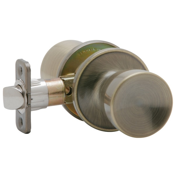Etonnant Dexter By Schlage J10VBYR609 Antique Brass Byron Passage Door Knobs