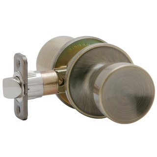 Dexter by Schlage J10VBYR609 Antique Brass Byron Passage Door Knobs