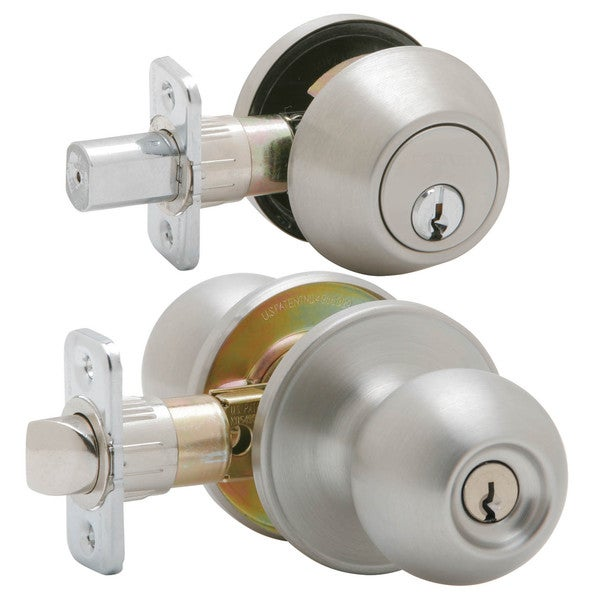 Shop Dexter By Schlage Jc60vcna630 Satin S S Corona Keyed
