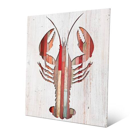 Lobster' Wall Art on Metal