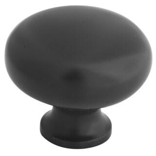 """Home Designs S804880 1.26"""" Oil Rubbed Bronze Round Knob"""