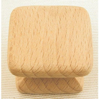 "Ultra Hardware 41457 1-1/4"" BeechTraditions Wood Knob"