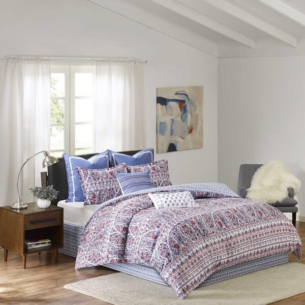 Shop Echo Design Woodstock Cotton Sateen Printed Comforter Set