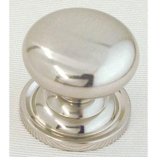 """Ultra Hardware 41661R1 1-1/4"""" Satin Nickel Trendset Solid Brass Mushroom Knob"""