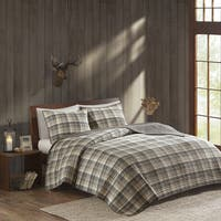 Woolrich Tasha Tan Cotton Percale Printed Quilt Mini Set