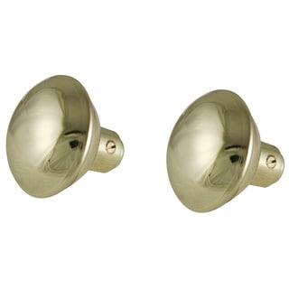 """Ultra Hardware 43005 2"""" Brass Steel Round Knob Set"""