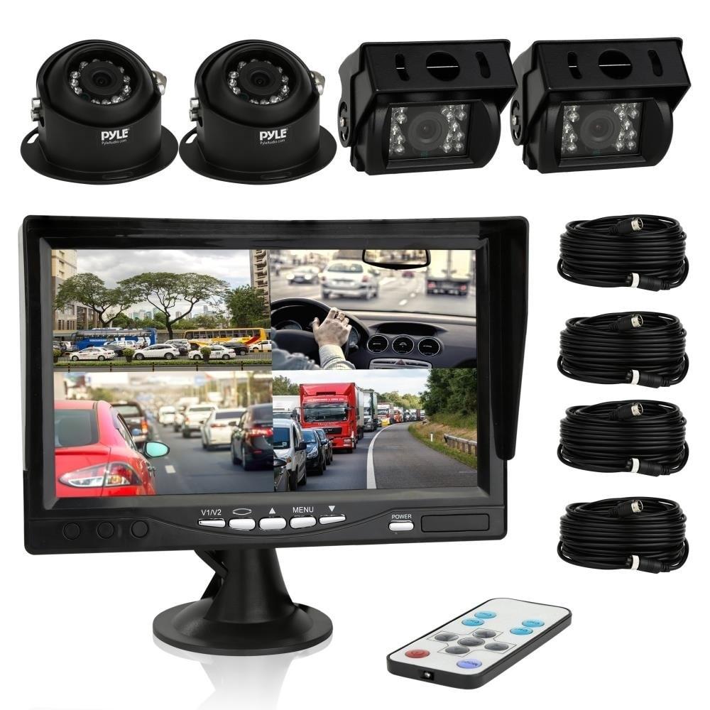 Pyle PLCMTRS77 Rearview Backup Camera & Video Monitor Qua...