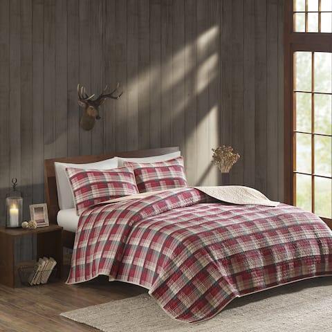 Woolrich Tasha Cotton Percale Printed Quilt Set