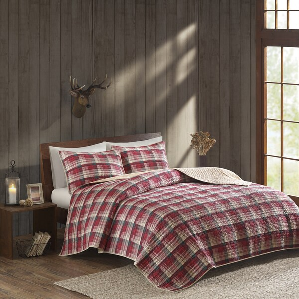 Woolrich Tasha Cotton Percale Printed Quilt Mini Set