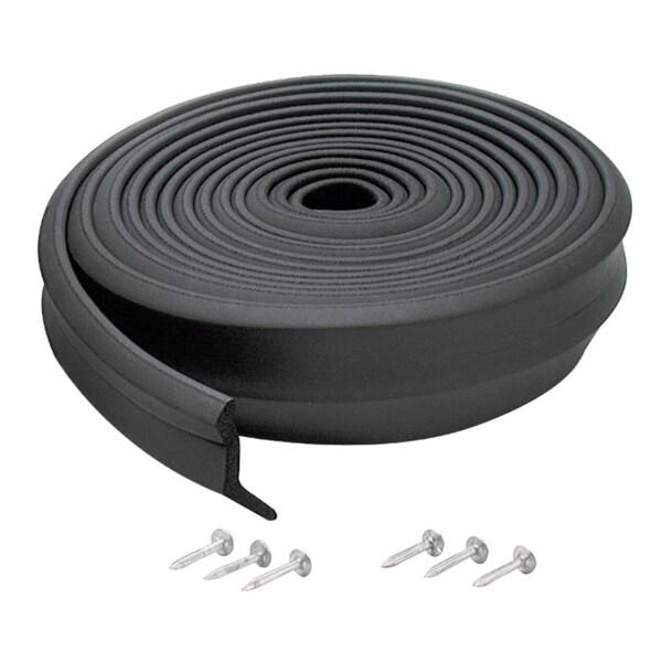 Shop M D 03749 16 Rubber Garage Door Bottom Seal Free