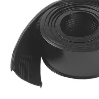 "M-D 08460 2"" X 9' Black Rubber Garage Door Bottom https://ak1.ostkcdn.com/images/products/12611303/P19405754.jpg?impolicy=medium"