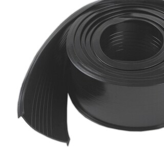 """M-D 08460 2"""" X 9' Black Rubber Garage Door Bottom"""
