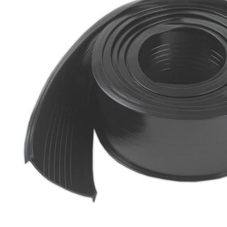 """M-D 08462 2-1/2"""" X 18' Black Garage Door Vinyl Bottom Replacement"""