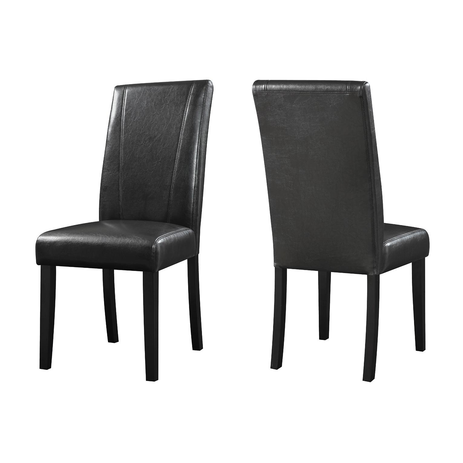 Coaster Company Brown Parson Chairs (Set of 2) - 18.25 x 24.50 x 39.50 (PARSON CHAIR)