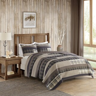 Woolrich Winter Plains Cotton Printed Pieced Quilt Mini Set