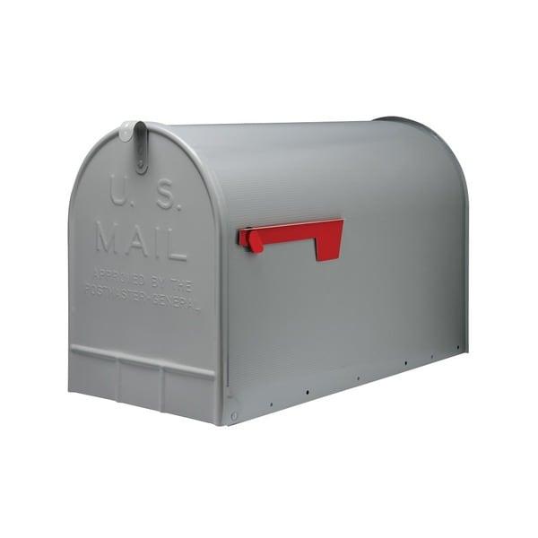 Solar Group ST20 Galvanized Steel Gray Rural Mailbox
