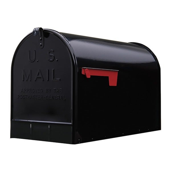 Solar Group ST200B00 Black Jumbo Size Rural Mailbox