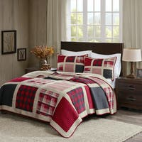 Woolrich Huntington Cotton Printed Pieced Quilt Set