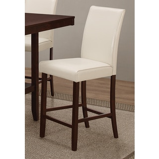 Coaster Company Cream Leatherette Counter Height Chair