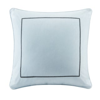 Echo Design Sterling Light Blue Cotton Euro Sham