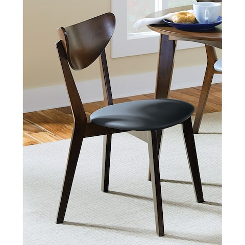"""Coaster Company Brown Dining Chair (Set of 2) - 17.75"""" x 21.75"""" x 31.25"""""""