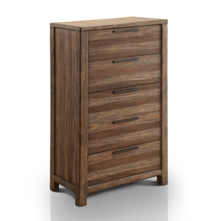 Furniture of America Amber Contemporary Rustic 5-drawer Chest