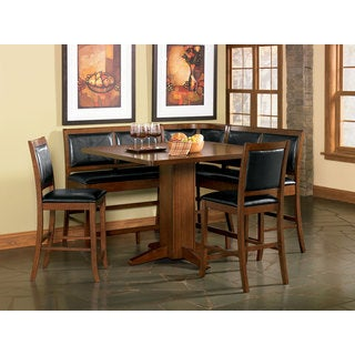 Coaster Company Lancaster Brown Counter Height Dining Bench (Set Of 2)