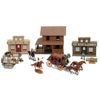 New-Ray John Wayne Town Play Set