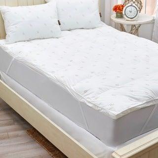 Panama Jack Down Alternative Fiber Bed - White